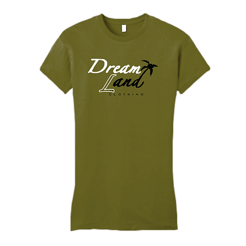 Classic DNL Tee (Olive/Whit/blk)[f]