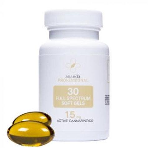 Ananda 15 mg Softgel 30 Capsules