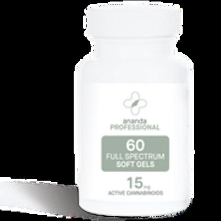 Ananda 15 mg Softgel 60 Capules
