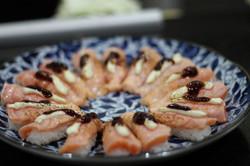 Niguiri Gourmet com Geléia  Morango