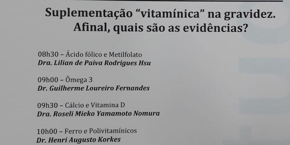 "Suplementação ""vitaminica"" na gravidez."