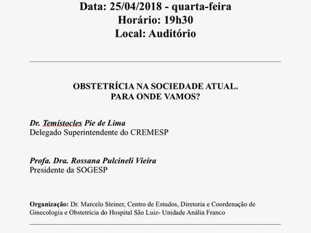 Reunião Científica Obstetrícia
