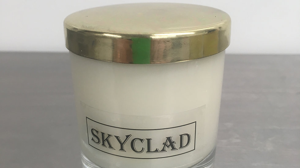 SMALL GOLD TOP SKYCALD CANDLE