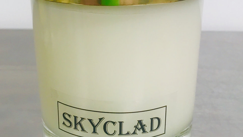 GOLD TOP SKYCLAD CANDLE