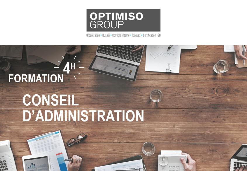 Formation sur les Conseils d'administration d'optimiso group