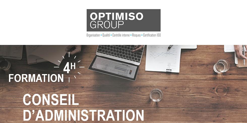 F - 17.05.2018 > Genève | optimiso | Formation 4H - Conseil d'administration