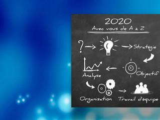 Tous nos vœux... pour la réussite de vos projets en 2020