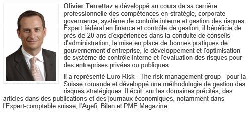 Olivier Terrettaz - Enseignant du module 10 - CG, RM & SCI