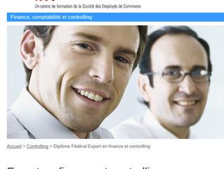 Préparation aux examens fédéraux du diplôme d'expert-e en finance et controlling