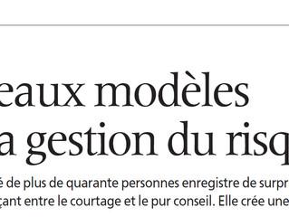 Nouveaux modèles dans la gestion du risque