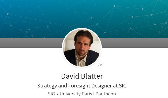 David Blatter - Confériencier