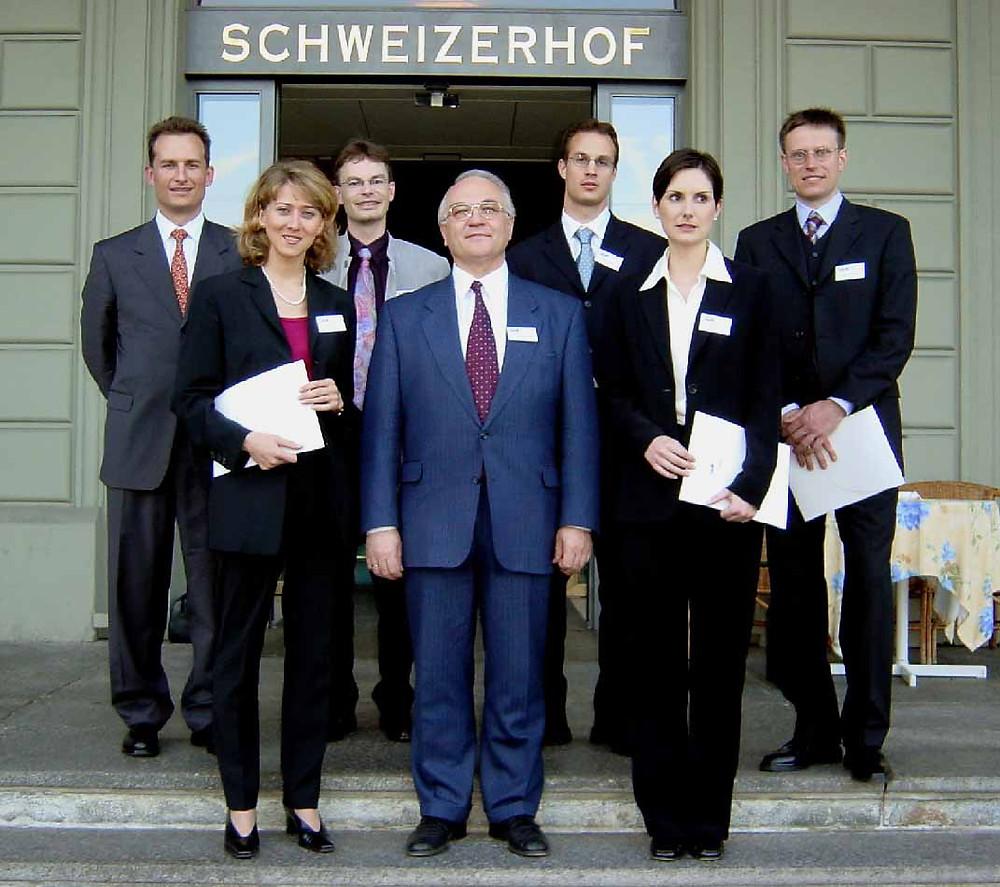 Lauréats du prix SGO 2002