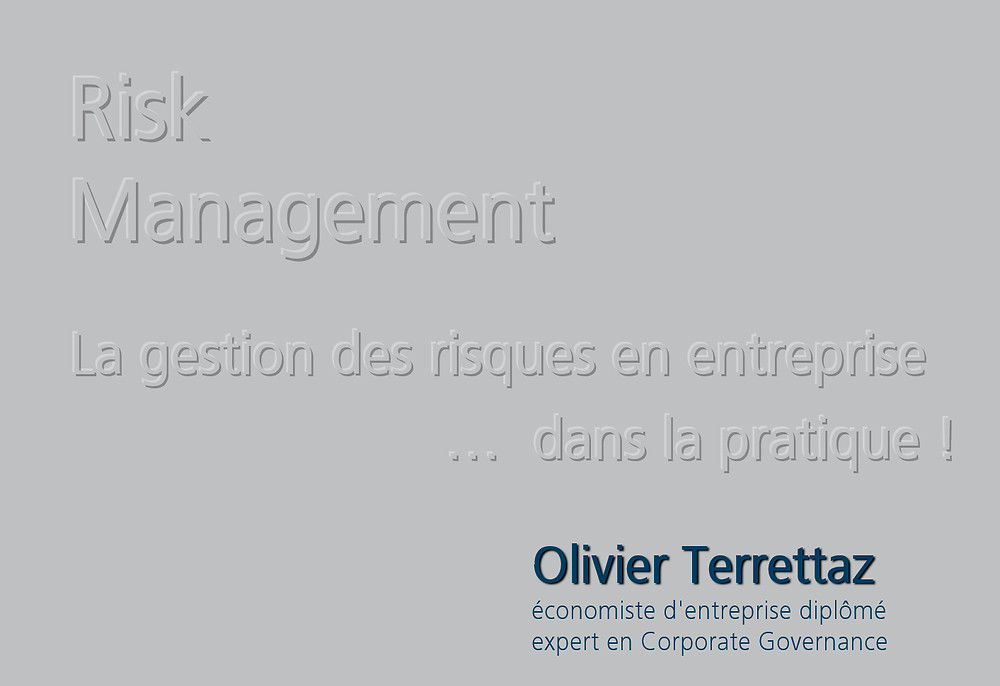 Conférence d'Olivier Terrettaz sur la pratique de gestion des risques en entreprise