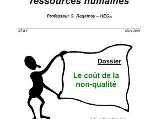 Le coût de la non-qualité dans les ressources humaines (RH)