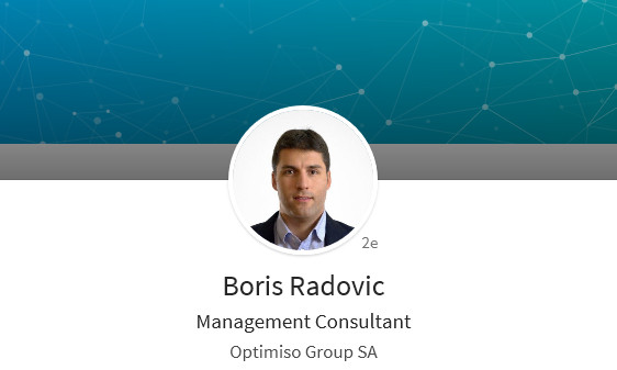 Boris Radovic - Conférencier