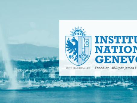 « La place financière genevoise : défis internationaux et responsabilités locales »
