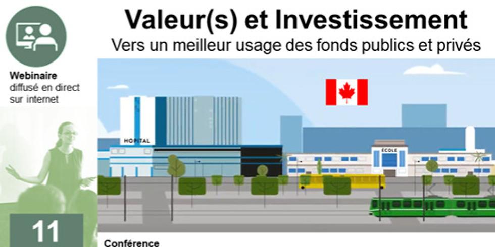 11 juin 2019 > Genève | FER Genève | Conférence - Valeur(s) et Investissements