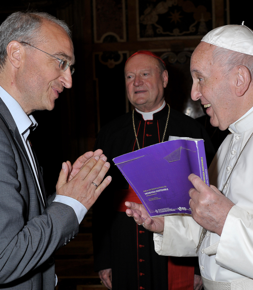 Pope Francis, Roland Schatz