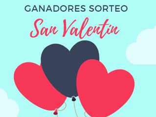 Ganadores Sorteo San Valentín