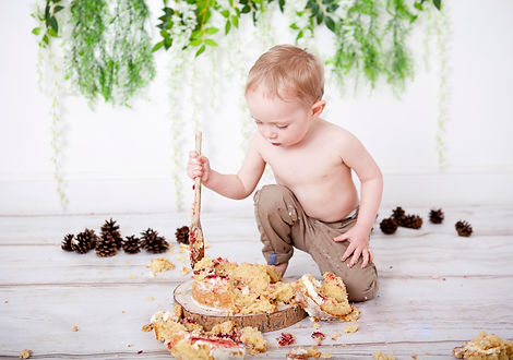 Cake Smash Photography, Chislehurst, Bromley Studio