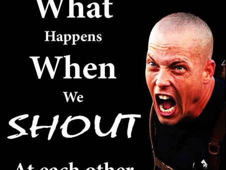 WHAT HAPPENS WHEN WE SHOUT?