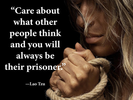 DO YOU CARE WHAT OTHERS THINK OF YOU?