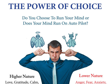 DOES YOUR MIND RUN ON AUTOPILOT?