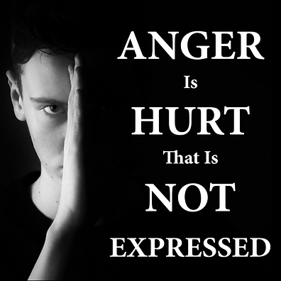 Instagram anger is hurt that is not expr