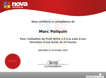 Certification : Profil Nova 2.0
