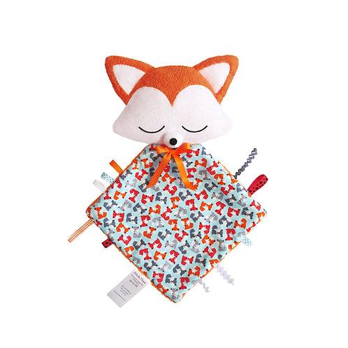 Foxy doudou étiquettes