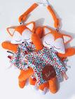 Modification sur la peluche : Doudou étiquettes Foxy