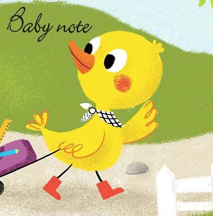 Peluche pour l'entreprise Babynote