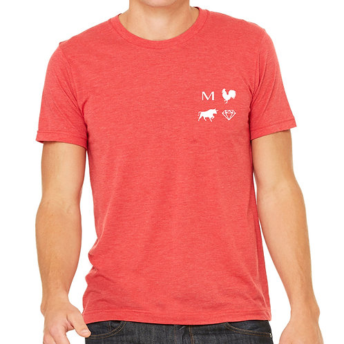 Cock n Bull - Red Slim Fit