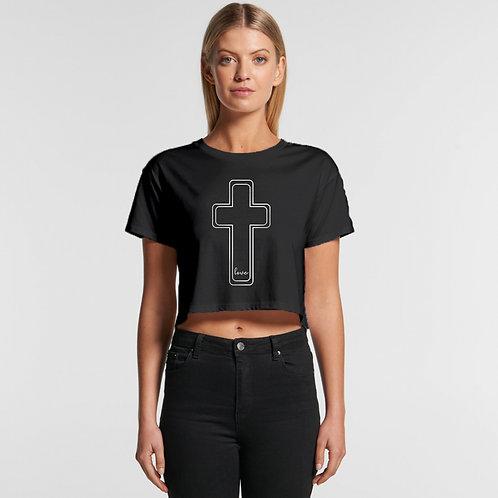 Cross Love Crop