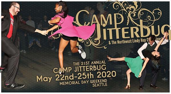 Camp Jitterbug & the Northwest Lindy Hop Championships