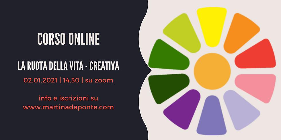 Corso Online La Ruota della Vita - Creativa