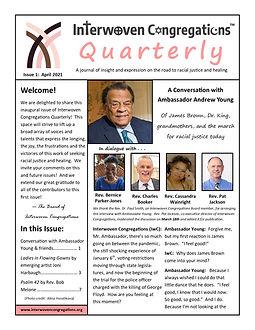 Interwoven Congregations Quarterly Issue