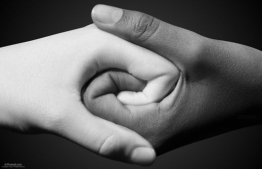 Black-and-White-Hands-Shake-and-Hold-Tog