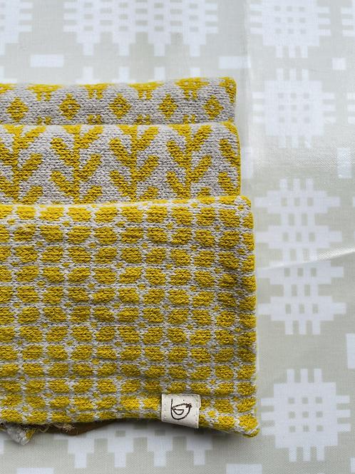Yellow Lambs Wool Snood
