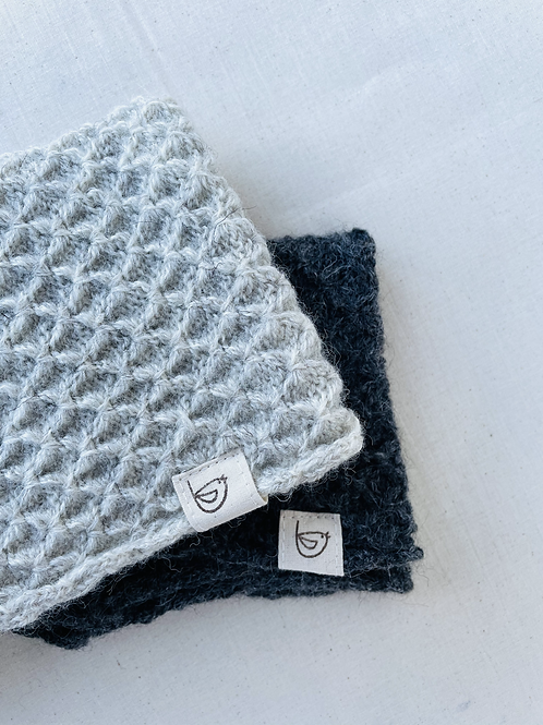 British Wool Honeycomb Snood