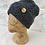 Thumbnail: British Wool Honeycomb Beanie Hat
