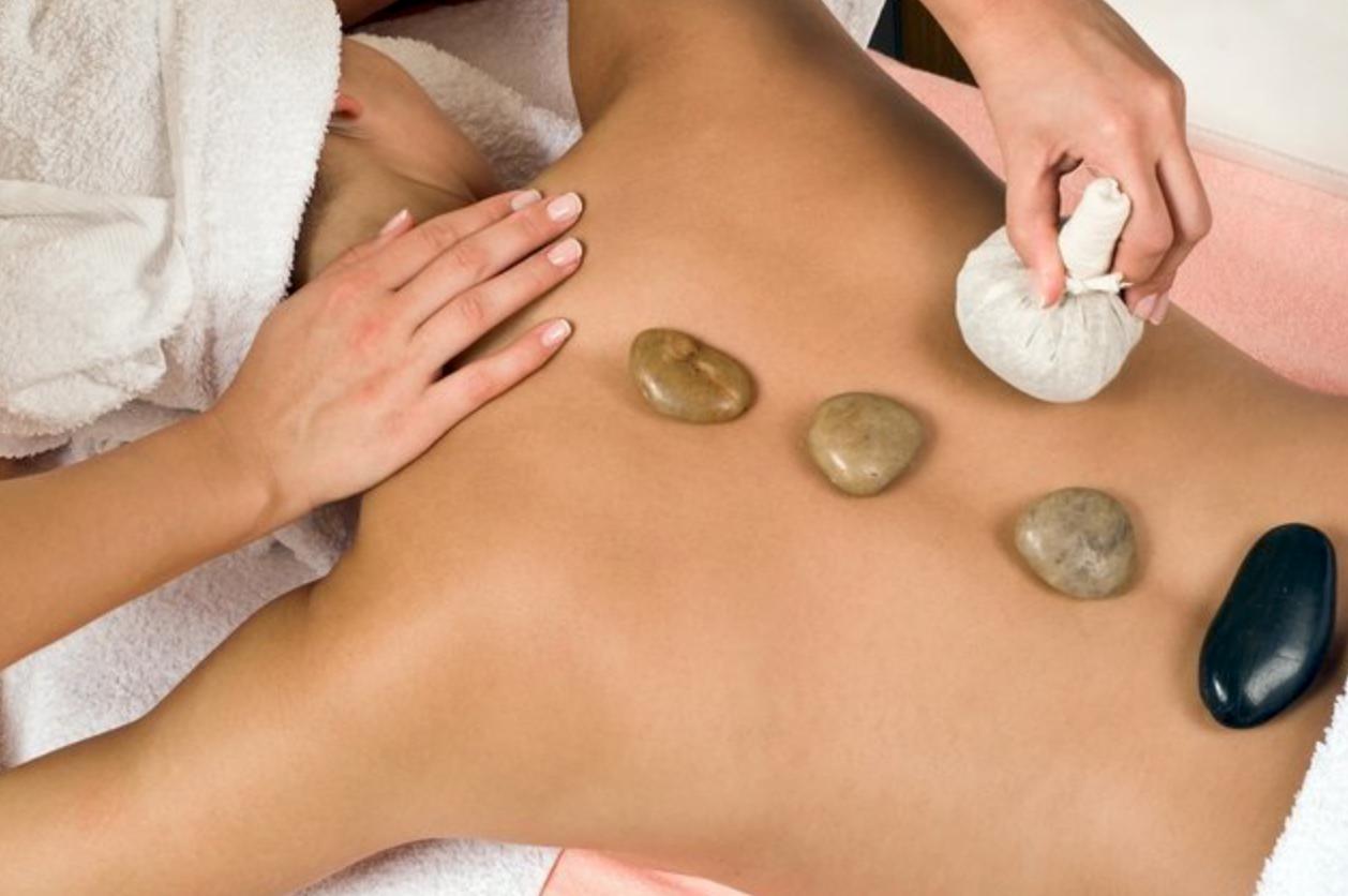 Lava Shell oder Hot Stone Massage