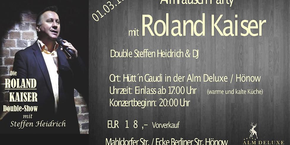 AUSVERKAUFT!!!  Roland Kaiser Double - Deutschlands Nr.1 (Kartenvorverkauf)