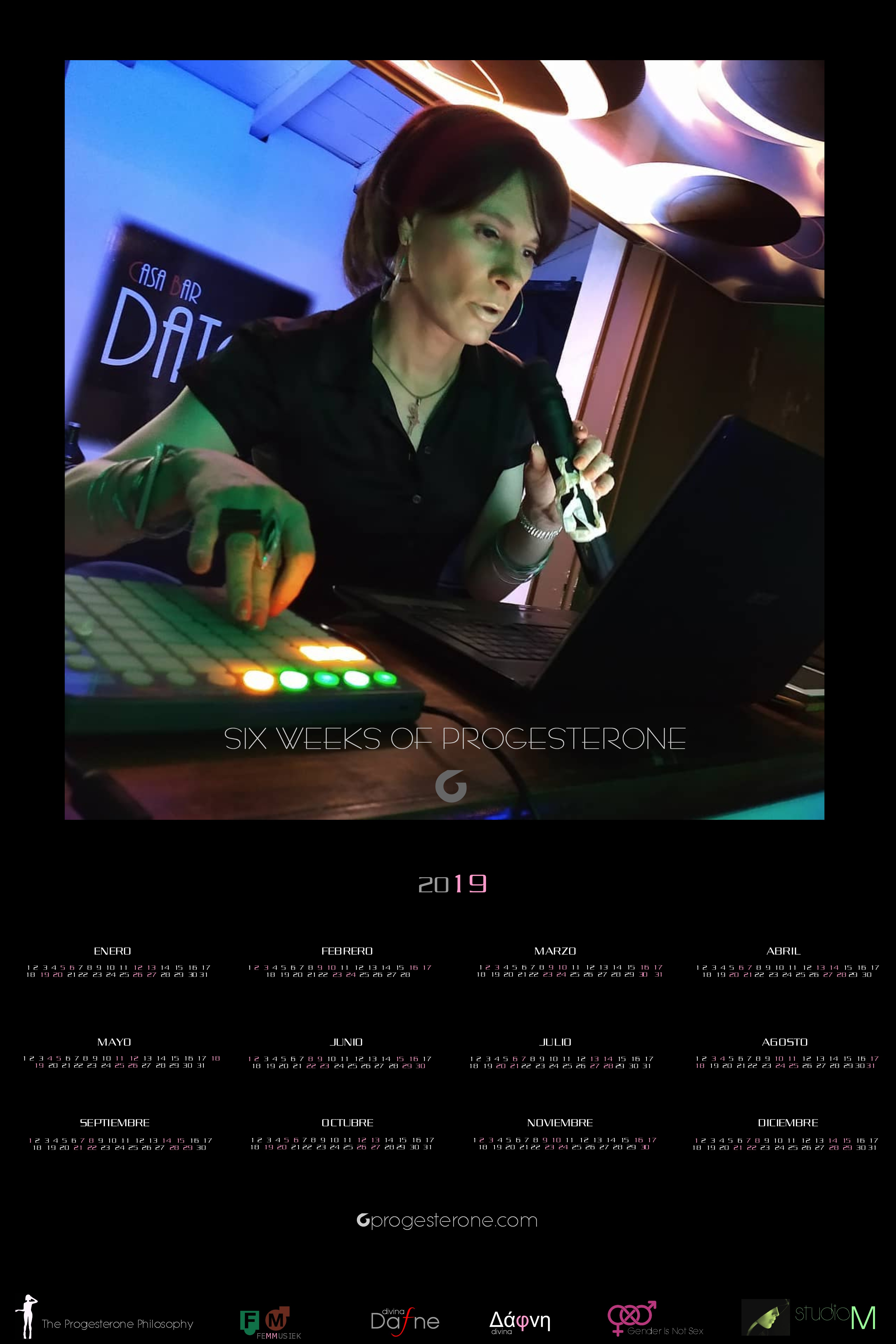 Progesterone Calendar 2019