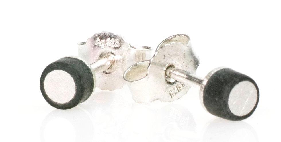 Carbonstecker mit Silbereinlage