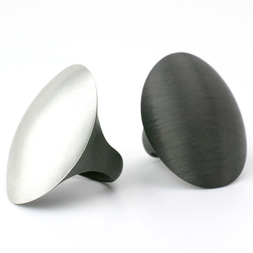 Carbon Ring - oval