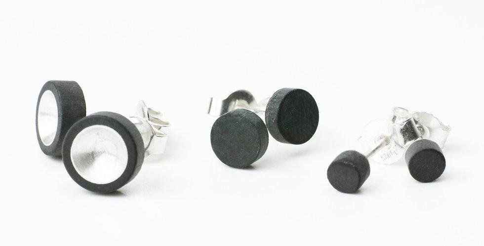 Carbon Ohrstecker