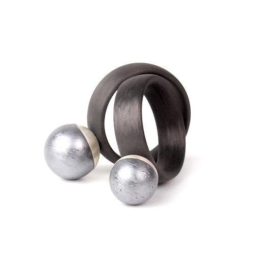 Ringe - Carbon, Silicium, Silber