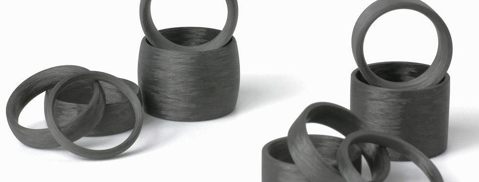 Carbonringe flach und rund