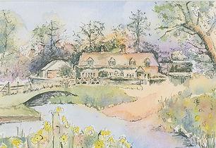 Watercolour  home